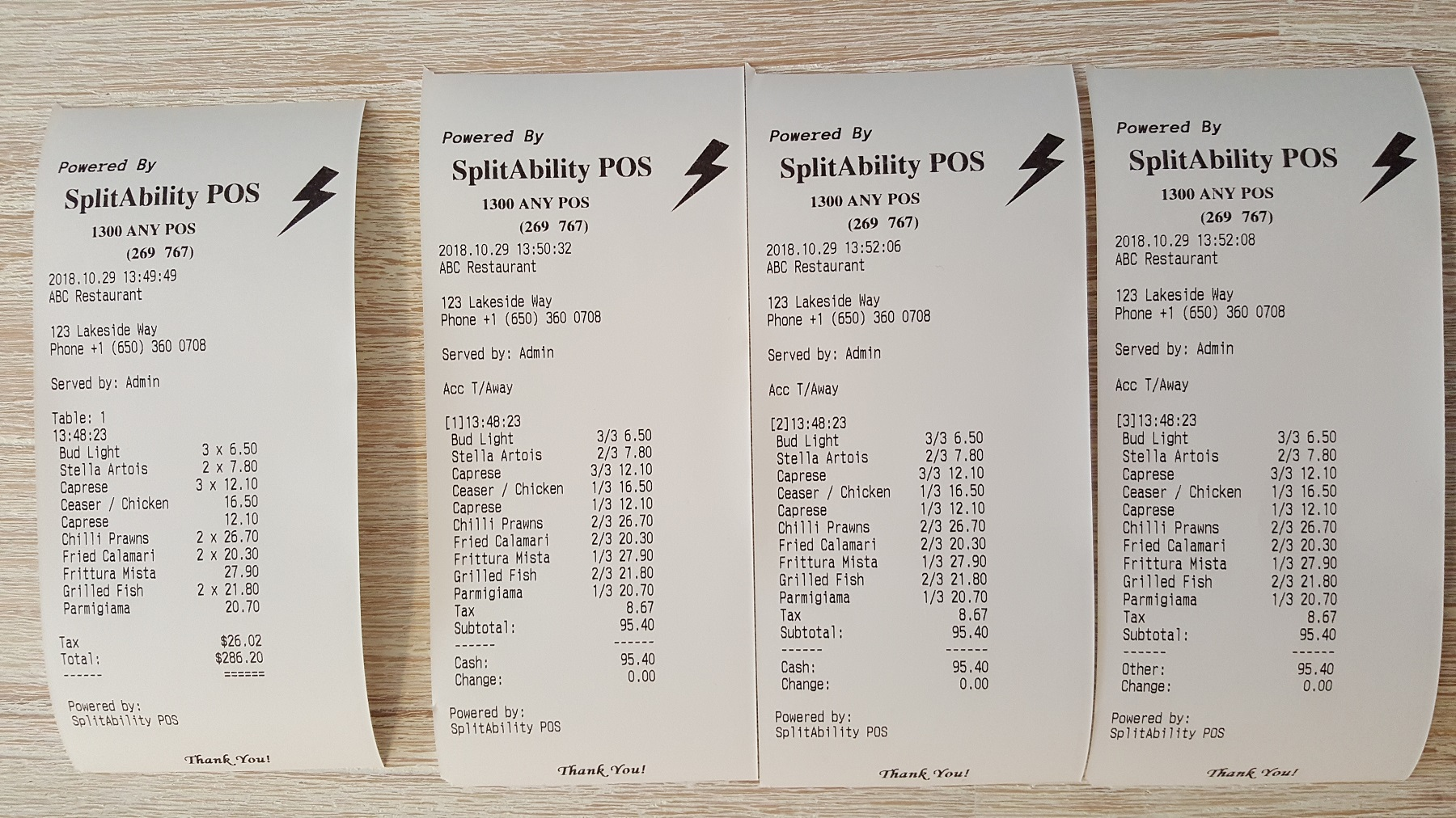 Restaurant POS Software | SplitAbility POS | Point of Sale Systems